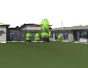 image of random house in revit 3d