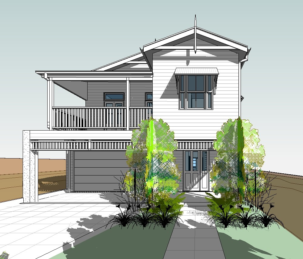 Revit 3d image gallery east coast building design for House construction design
