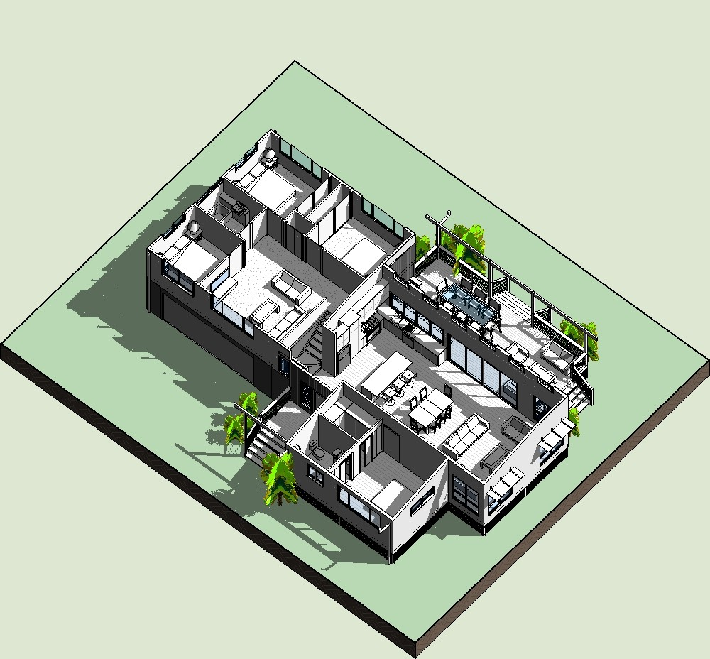 how to make a building in revit